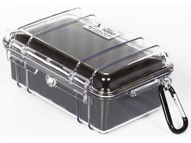 Peli MicroCase 1050 - Cajas - negro/transparente